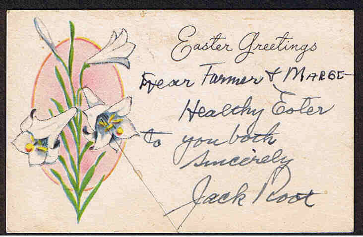 Easter greetings was featured